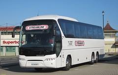 Neoplan Tourliner CX12SET in Ryde 18 April 2015 (IslandYorkie) Tags: buses isleofwight coaches streamline ryde singledeckers neoplantourliner busesinthesouthofengland busesontheisleofwight neoplanbody neoplanbuses coachesontheisleofwight cx12set