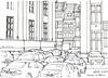 Liège, derrière la rue du Palais (gerard michel) Tags: auto sketch belgium liège croquis