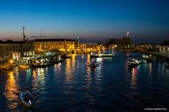 Venezia (Fabio Palella Foto) Tags: city blue yellow landscape italia mare ship blu bluesky barche giallo nightscene ora venezia azzurro notturna paesaggio citt italiano