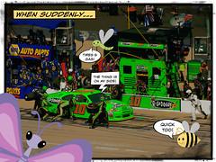 sketchCrew2 (Danica Patrick Racing) Tags: dc nascar graphicnovel sprint pitcrew chicagoland danicapatrick dcmemorialfoundation picmonkey dcbuggles