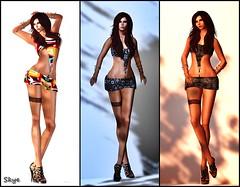 Lavian - She Wolf (SkyeBluestar (http://skyezthelimit.blogspot.ca)) Tags: fashion secondlife virtual slink secretwednesdays lavianco
