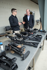 Judge Robert Bonner Visits the CBP Advanced Training Center (CBP Photography) Tags: robert atc harpers ferry training border center judge guns former facility bonner protection weapons commissioner customs advanced confiscated cbp
