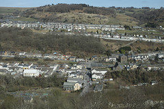 22nd March 2015 Sigma DP2 Merrill 007 (Parishes of the Buzzard) Tags: uk blue houses homes sky people streets cars church wales rural landscape march spring scenery village view wind scene hills valley welsh hillside turbine valleys foveon 2015 rhymney phillipstown newtredegar hiily sigmadp2merrill