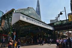 Borough Market & The Shard