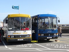 Waverley 2 (Coco the Jerzee Busman) Tags: uk blue bus islands coach camo renault cannon jersey swift dennis tours dart channel leyland lcb plaxton tantivy