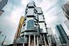 Lippo Centre (Andy Brandl (PhotonMix)) Tags: china lines architecture skyscraper buildings hongkong nikon lippocentre rh d800 architecturaldesign wanchai photonmix