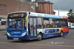 Stagecoach Merseyside & South Lancashire 36803 PO62MFA (Will Swain) Tags: city uk travel england west bus buses station cheshire britain south centre north transport lancashire chester april 25th exchange stagecoach merseyside 2015 36803 po62mfa