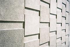 Day 102 - Perspective (Mindori Photographic) Tags: film wall analog concrete shadows sheffield tiles 365 analogue miranda concretewall tapton taptonhall project365 filmisnotdead 365days mirandaax hiddenscale agfavistaplus200 mirandacameras