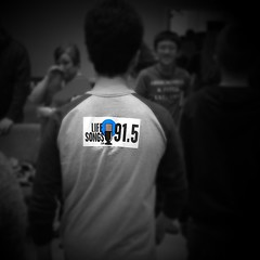 #LifeSongsFM bumper #stickers. They're not just for bumpers anymore.   #creative #bumpersticker #sticker #shirt #back #clothes #youth #radio #Christian #BlackAndWhite #photography #funny #jokes #GodIsGoodAllTheTime