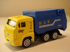 ETI/TECHNOPARK KAMAZ CHINESE REFUSE TRUCK 1/64 (ambassador84 OVER 5 MILLION VIEWS. :-)) Tags: eti diecast technopark kamazrefusetruck