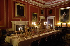 Banquet settings (Sundornvic) Tags: house home chairs furniture decoration grand nationaltrust stately attinghampark