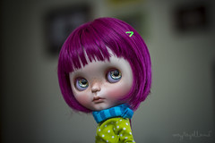 Custom #12 - Commission (Dolly Adventures in the Galland Household) Tags: cute art childhood doll blythe artdoll custom simply collectibles thump fbl dollphotography thumpty dollartistry miemadollhouse