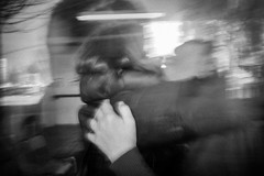 _DSF9010-2web (Thanos Savvidis) Tags: life street b light people urban blackandwhite bw abstract blur monochrome contrast blackwhite couple surreal atmosphere