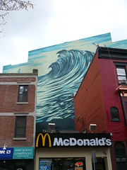 Wave mural (c_nilsen) Tags: art digital painting newjersey mural jerseycity wave digitalphoto