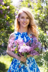 (photo_irina) Tags: portrait colors girl beautiful beauty smile spring model blossom moscow blonde