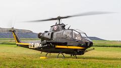 US Army Bell AH-1F Cobra 67-15589/N589HF '15589' (Hugh Dodson) Tags: army us cobra bell sunday ypsilanti willowrun 15589 ah1f n589hf 6715589 thunderovermichigan2015