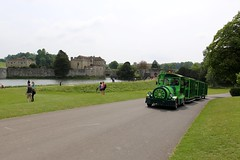 (dawncallowhill) Tags: castle water train kent leedscastle roadtrain