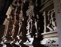 Inside Lakshmana Temple (chdphd) Tags: temple khajuraho lakshmana lakshmanatemple