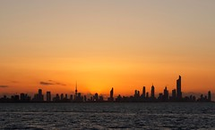 The whole of Kuwait City (Ravi Raj R - 3R) Tags: sunset landscape cityscape kuwait rrr goldenhour kuwaitcity