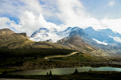 Rockies (tammydesu) Tags: mountain snow canada mountains nature water landscape rockies rocky columbia glacier explore alberta icefield