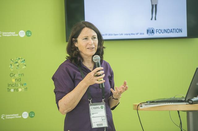 Heather Allen presenting