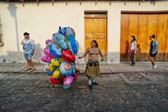 the mirror (Carey Moulton) Tags: monument easter mexico guatemala procession labna chichen itza pacaya
