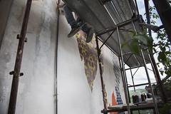 CVT Street Fest (.UNO) Tags: street urban streetart art painting stencil mural scaffolding contemporaryart contemporary clash urbanart uno scaffold spraypaint cb murales civita molise idontcareaboutuno civitacampomarano cvta unostreetart cvt cvtstreetfest cvtastreetfest