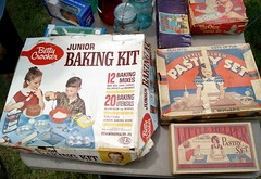 vintage toy baking sets (holiday_jenny) Tags: park sea vintage spring nj historic og asbury antiques jerseyshore fleamarket oceangrove 2016 tenthouses