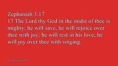 Zephaniah 3:17 (God'sMercyandLove) Tags: god christian bible christianity scriptures