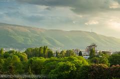 Vitosha /  (AVasilev) Tags: trees sunset mountain clouds sofia  vitosha