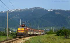 In the curve (Radler.z) Tags: train locomotive railways skoda bulgarian pernik 61006 bdz dupnitsa yahinovo 50234