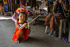 The Little Karen Girl (Anoop Negi) Tags: portrait people woman cute girl neck thailand photography photo long child burma karen longneck chiangmai tribe anoop dressed negi padaung ezee123 paduang