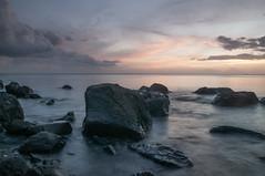 Sunset sur Vieux Fort (lemwan) Tags: sunset mer rock nikon tropical guadeloupe roches antilles gwada carabes basseterre eaux longueexposition longueexposure lemwan