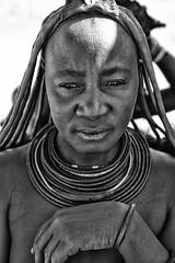 Himba Woman 3 (alisdair jones) Tags: africa leica portrait woman tribal jewellery namibia himba nomadic m240 summiluxm11450asph