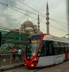 DSC00097-2 (UmitCukurel) Tags: street cloud turkey candle turkiye tram istanbul mosque historical cami turquia touristic eminonu yenicami sirkeci cith