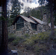 I can still taste you like it was yesterday (Super G) Tags: trees mountains abandoned cabin memory desolationwilderness holga120n kodakportra400 glenalpinesprings 20150423garbholgportra400