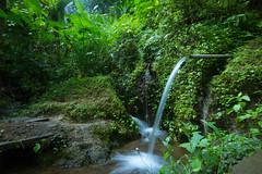 Longexposure test (hgis) Tags: longexposure travel bali green water canon temple waterfall ubud indonesi 550d