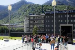Minut de silenci per les  víctimes d'Orlando.17-06-2016 (Govern d'Andorra) Tags: homenatge minut orlando silenci som stop victimes violència