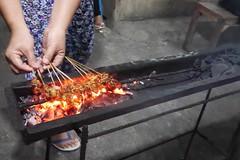 Satay Ayam  (lulun & kame) Tags: bali indonesia asia asianfood jimbaran lumixg20f17 malaysianindonesianfood