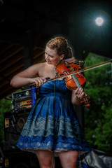 Cornmeal (StevanBaird) Tags: people music concert bluegrass bass guitar folk banjo fiddle cornmeal summercamp2011