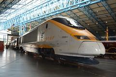 23-06-16 Eurostar 3308 - York National Railway Museum (Lukas66538) Tags: york museum eurostar railway class national nrm 373 3308 373308