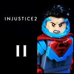 INJUSTICE 2 Superman (1upLego) Tags: 2 lego superman injustice customs