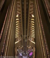 A Long Way Down (Cameraman_Bob) Tags: atlanta usa america hotel high floor top symmetry illusion inside repeat iphone repetitive amazingview