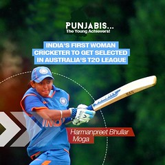 First woman from Indian cricket to be selected for Australia's Domestic T-20-Akali Dal (sukhbirsingh_badal) Tags: girls inspiration proud punjab akalidal youngachieversofpunjab