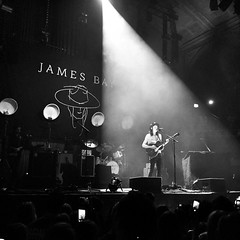 (Stumbling in the darkness) Tags: manchester concert live gig acoustic jamesbay alberthall bq iphone steviezj