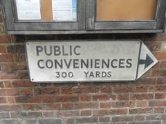 public conveniences