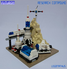 01_Overview (LegoMathijs) Tags: blue scale station wheel dark lego space platform tan tire landing astronauts micro scifi spaceship trans monorail technique base sattelite miners moc studless futuron foitsop legomathijs