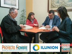 Convenio entre ILUNION y Fundación Aldaba - Proyecto Hombre