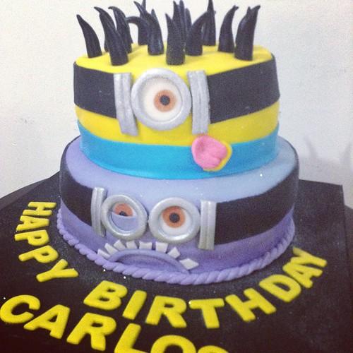 Minions Despicable Feliz Cumpleaños Minion Despicable Cake