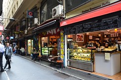 Centro Espresso and 3 Lt Monkeys - Centre Place, Melbourne (avlxyz) Tags: alley australia melbourne victoria lane shops laneway centreplace melbournevic